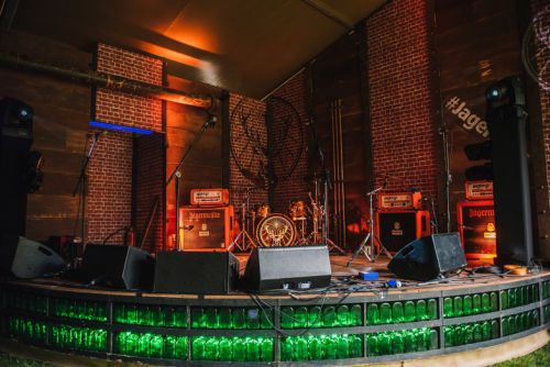 Take an exclusive look inside the all new JägerHaus at All Points East