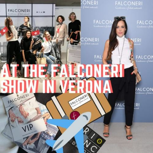 At the Falconeri Show in Verona