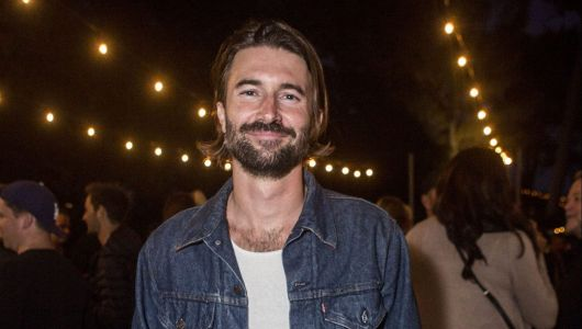 Bro's in Tow! Brandon Jenner Hangs Out With Kim Kardashian at Kylie's Skincare Launch