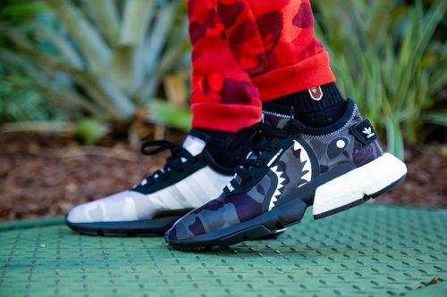 An On-Foot Look at the BAPE x NEIGHBORHOOD x adidas POD-S3.1