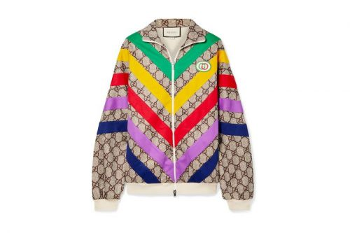 Gucci's Retro Rainbow Track Jacket Is a Bold Outerwear Option