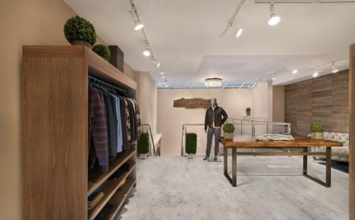 Brett Johnson opens SoHo flagship store