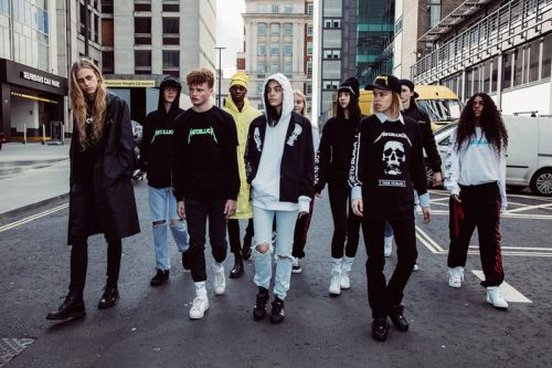 Selfridges Unveils Exclusive Metallica Capsule from Justin O'Shea