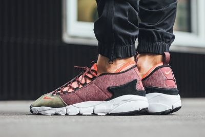 "Nike's Air Footscape NM Gets a ""Dragon Red"" Makeover"