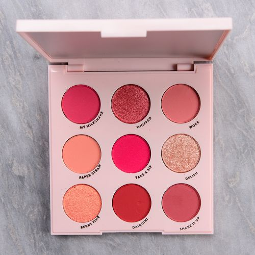 ColourPop Strawberry Shake Palette Makeup Look Ideas