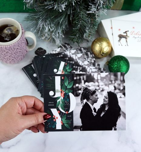Sending Out My Minted Holiday Cards!