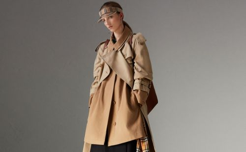 Why did Burberry destroy 37 million dollars of its goods?