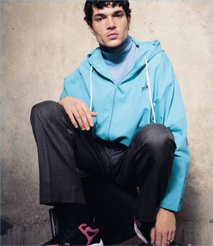 Street Wise: Luka Isaac Sports Casual Looks for Barneys