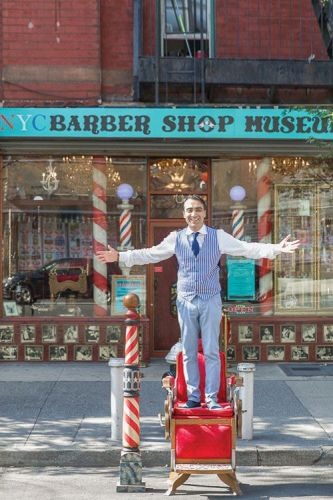 The Barber Shop Museum Opens in New York City