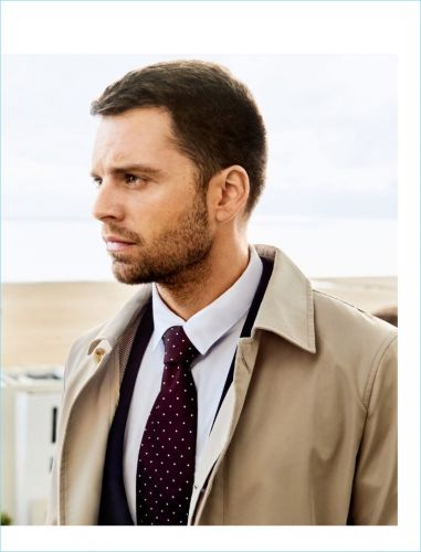 Sebastian Stan Covers August Man, Talks Marvel Family