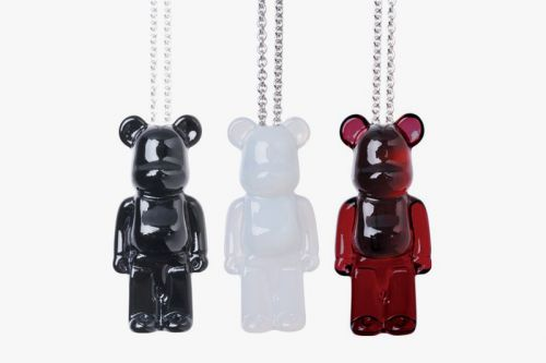 Baccarat's Latest BE RBRICK Collab Yields Classy Crystalline Jewelry