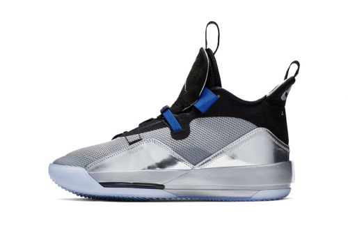 "Air Jordan 33 Shines in ""Metallic Silver"" for All-Star Weekend"