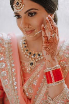 Zaby + PJ Arizona Sikh Wedding by Ushna Khan Photography