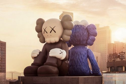 KAWS Officially Debuts 'SEEING/WATCHING' Permanent Sculptures in China