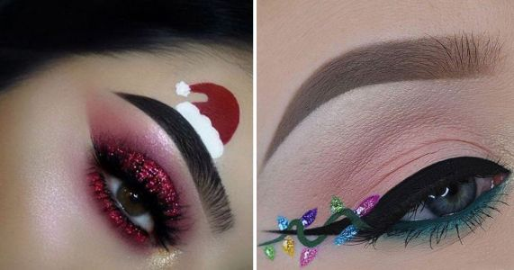 19 festive eye makeup looks to inspire you to go all out this Christmas
