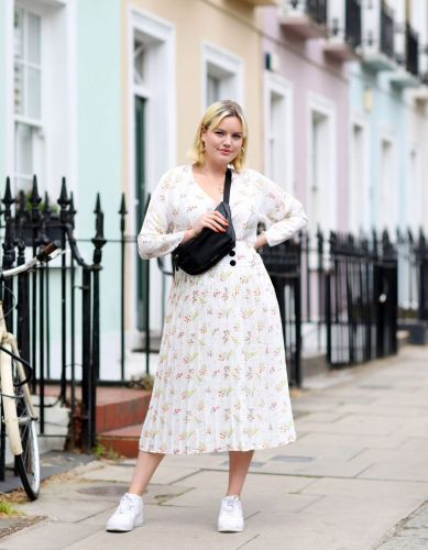 That Pleated ASOS Dress Is Back in Pink, and It's Even Better Than the Original