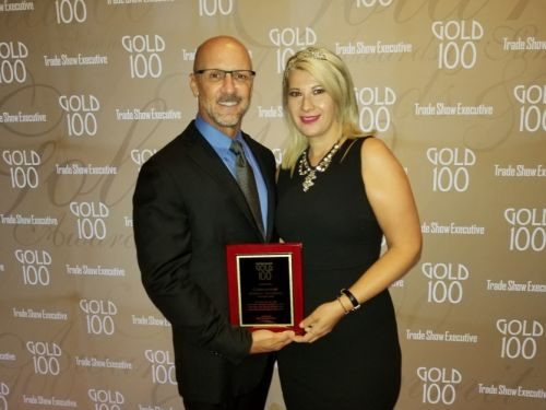 Cosmoprof Recognized by TSE Gold 100