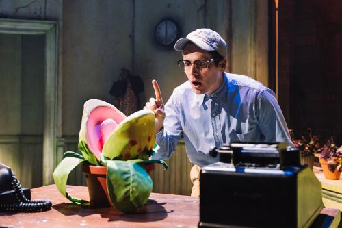 How 'Little Shop of Horrors' puppeteers bring Audrey II to life