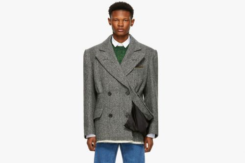 Maison Margiela's FW18 Hybrid Peacoat Blazer Can Now Be Yours for $4,200 USD