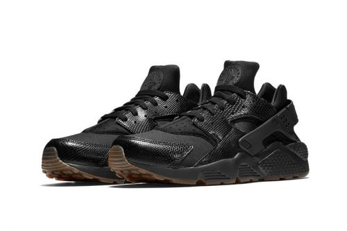"Nike's Air Huarache Receives a Textured ""Snakeskin"" Makeover"