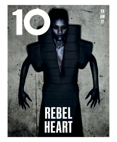 The Final Cover Of 10 Magazine - Nick Knight Shoots Gareth Pugh