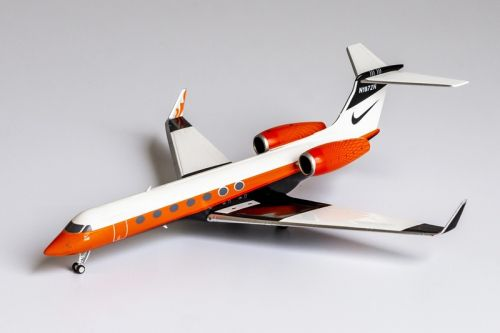 """This Die-Cast Nike Gulfstream G-550 Jet Model Brings a Whole New Meaning to """"Nike Air"""""""