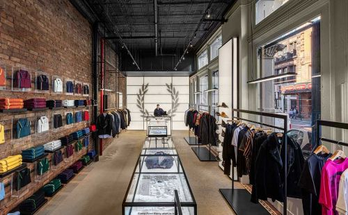 Inside Fred Perry Flagship Store, Manhattan