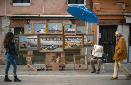 Banksy Infiltrates Venice Biennale 2019 With Unauthorized Installation