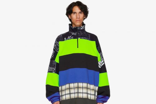 Balenciaga's Wildly-Layered Chimney Sweaters Are Now Available for Purchase