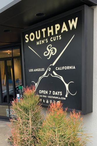In the Shop: Southpaw, Silverlake, California