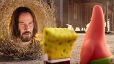 Keanu Reeves Makes Extremely Bizarre Cameo In New 'SpongeBob' Movie Trailer