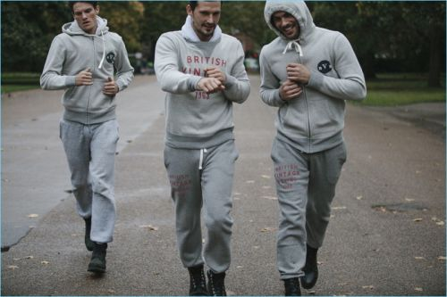 Danny Beauchamp, Sam Webb & Jacey Elthalion Embrace Sporty Style for British Vintage Boxing