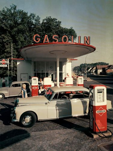 How the Petrol Station Has Become a Site of Unexpected Beauty