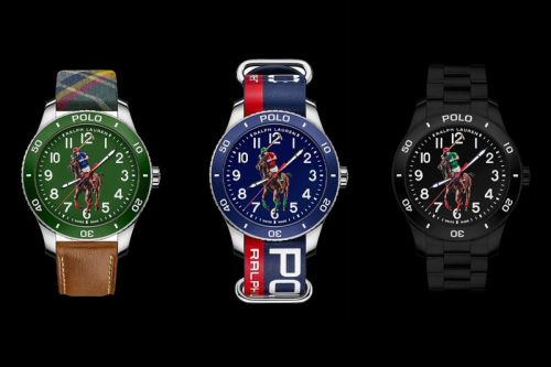 Ralph Lauren's Polo Logo Graces the Dials of Its Latest Dive-Inspired Watches