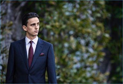 Alex Dunstan & Samuel Tingman are Gentleman for Gieves & Hawkes Fall '17 Campaign
