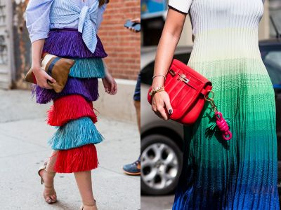 How To Do The Street Style Trend: New Colour Combinations