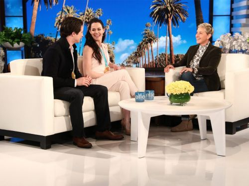 The Super Sweet Story Behind Tessa's Ellen Outfit