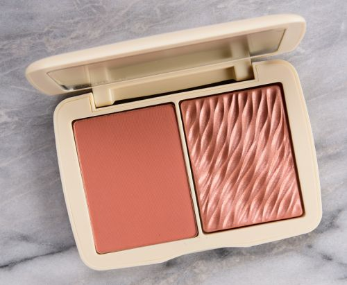 Cover FX Warm Honey Monochromatic Blush Duo Review & Swatches
