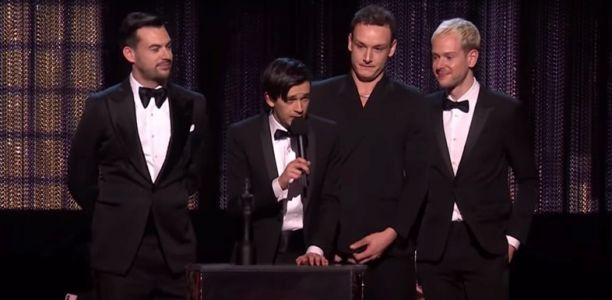 The 1975's Matty Healy calls out music industry misogyny in Brits speech