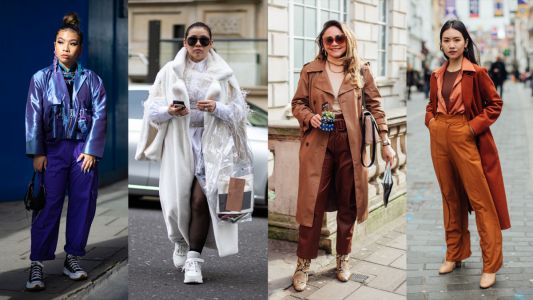 The Street Style Crowd Was All About Tonal-Blocking on Day 5 of London Fashion Week