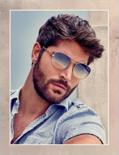 Nick Bateman Fronts Guess Spring '18 Accessories Campaign