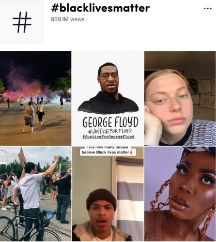 TikTok says issues with Black Lives Matter hashtags were due to a bug