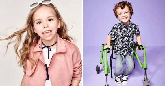 River Island hires child models with disabilities for their new campaign