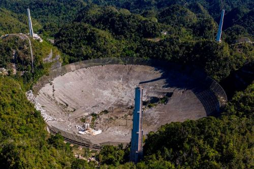 The Arecibo Observatory Telescope Has Collapsed