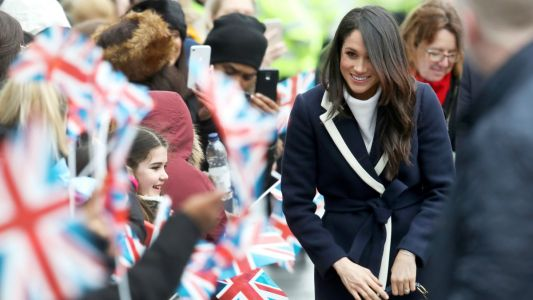 Meghan Markle Wore a Thing: J.Crew Coat Edition