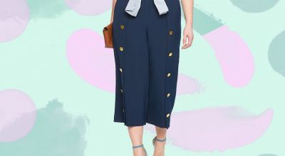 How to Wear Wide-Leg Pants If You've Got Curves