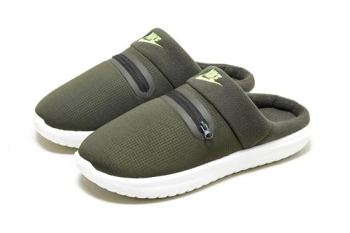 Nike Steps Into a New Cozy Territory With Its Fleecy Burrow Slipper