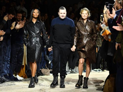 Kate Moss & Naomi Campbell Closed Kim Jones' Last Vuitton Show