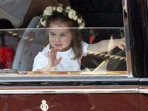 Prince George And Princess Charlotte Looked Adorable At The Royal Wedding
