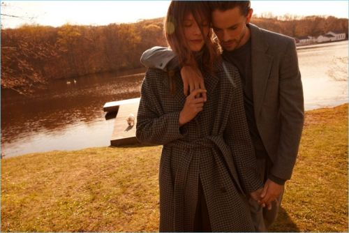 Jeremy Young & Sara Blomqvist Visit Upstate New York for Filippa K Fall '18 Campaign